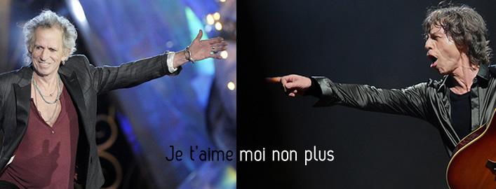 Jagger / Richards : Je t'aime, moi non plus  