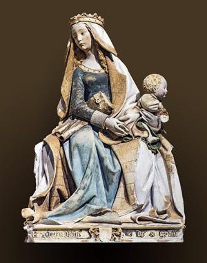 Vierge à l'Enfant : Nostre Dame de Grasse