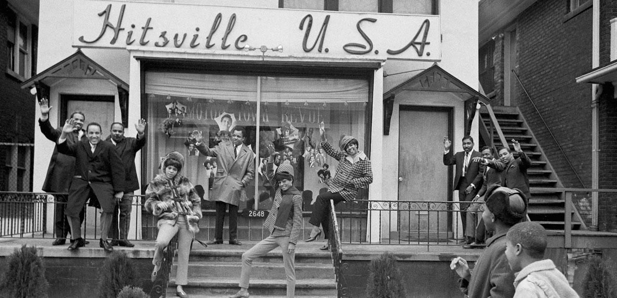 Motown, Hitsville U.S.A.   Collectif