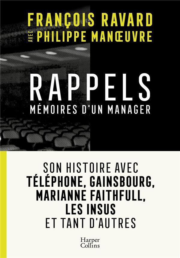 Rappels - Mémoires d'un manager